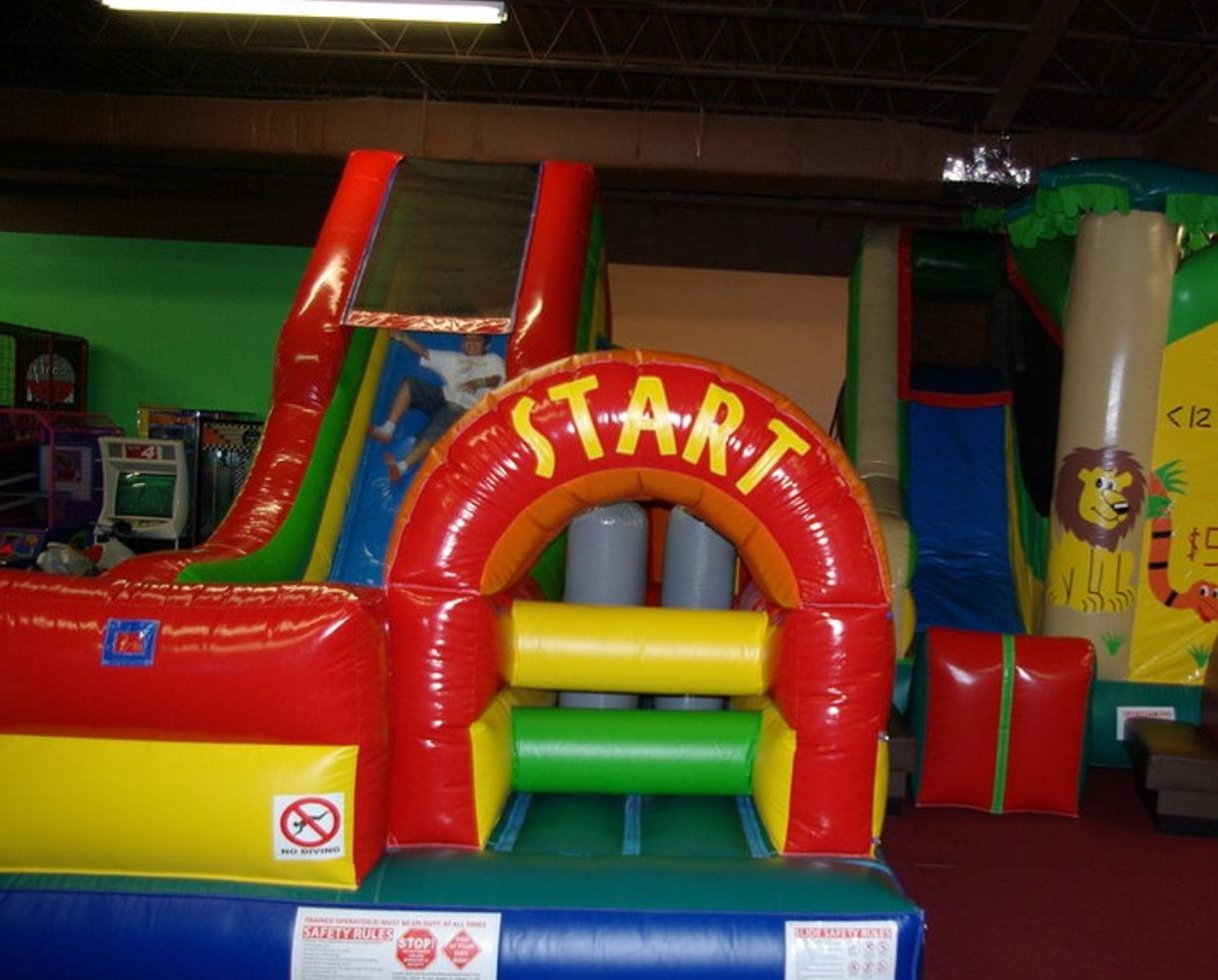 $147 for an All-Inclusive Bounce, Pizza & Games Party Package OR $15 for a Pal Pack OR $25 for a 10-Bounce Pass at Majestic Fun! - Manassas (50% off)