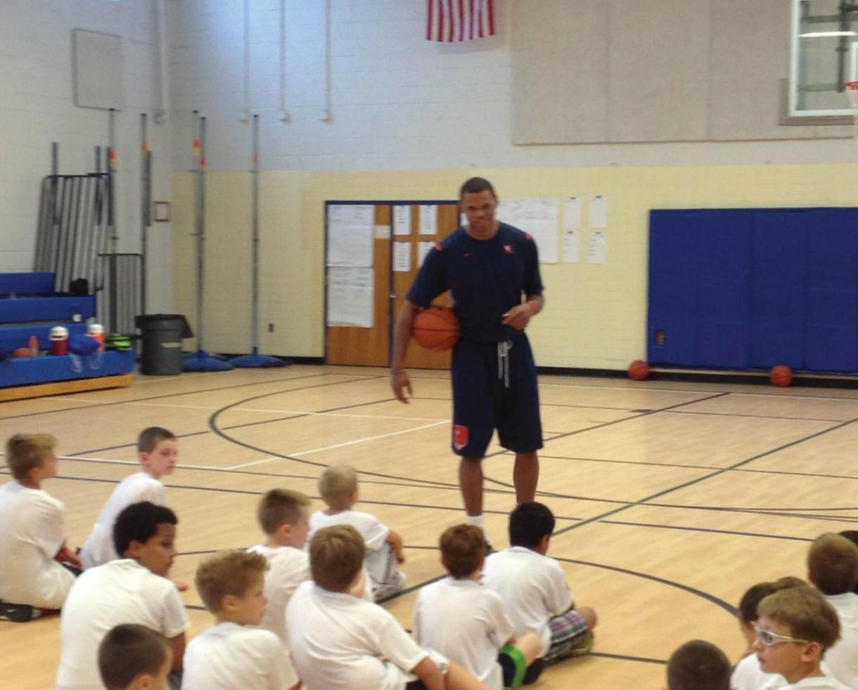 NEW LOWER PRICE! Mark Vincent Basketball Academy Camp