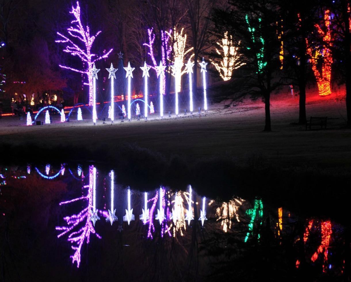 $16 for Meadowlark's Winter Walk of Lights Adult + Child Ticket - Vienna (31% Off)