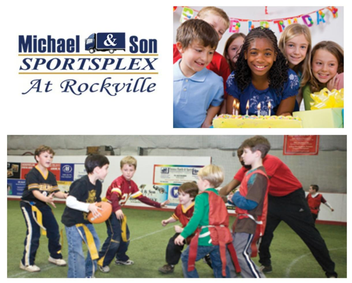 $112+ for Birthday Party Package at Michael & Son SportsPlex in Rockville (Up to 25% Off)