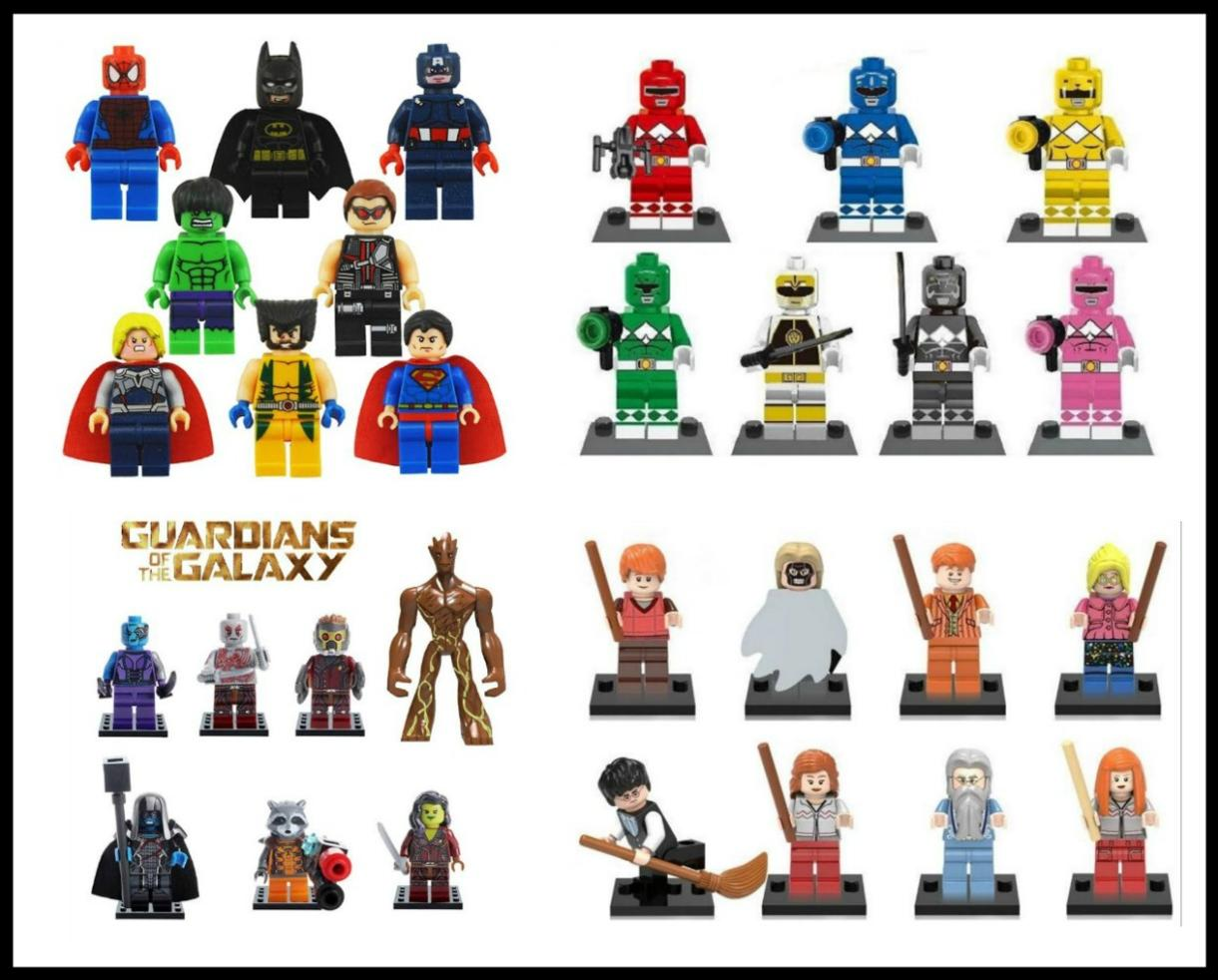 $5 for Minifigures Two Pack OR $18 for Complete Set - Batman, Guardians of the Galaxy, Super Heroes, Star Wars, Harry Potter and More! (Up to 56% Off)