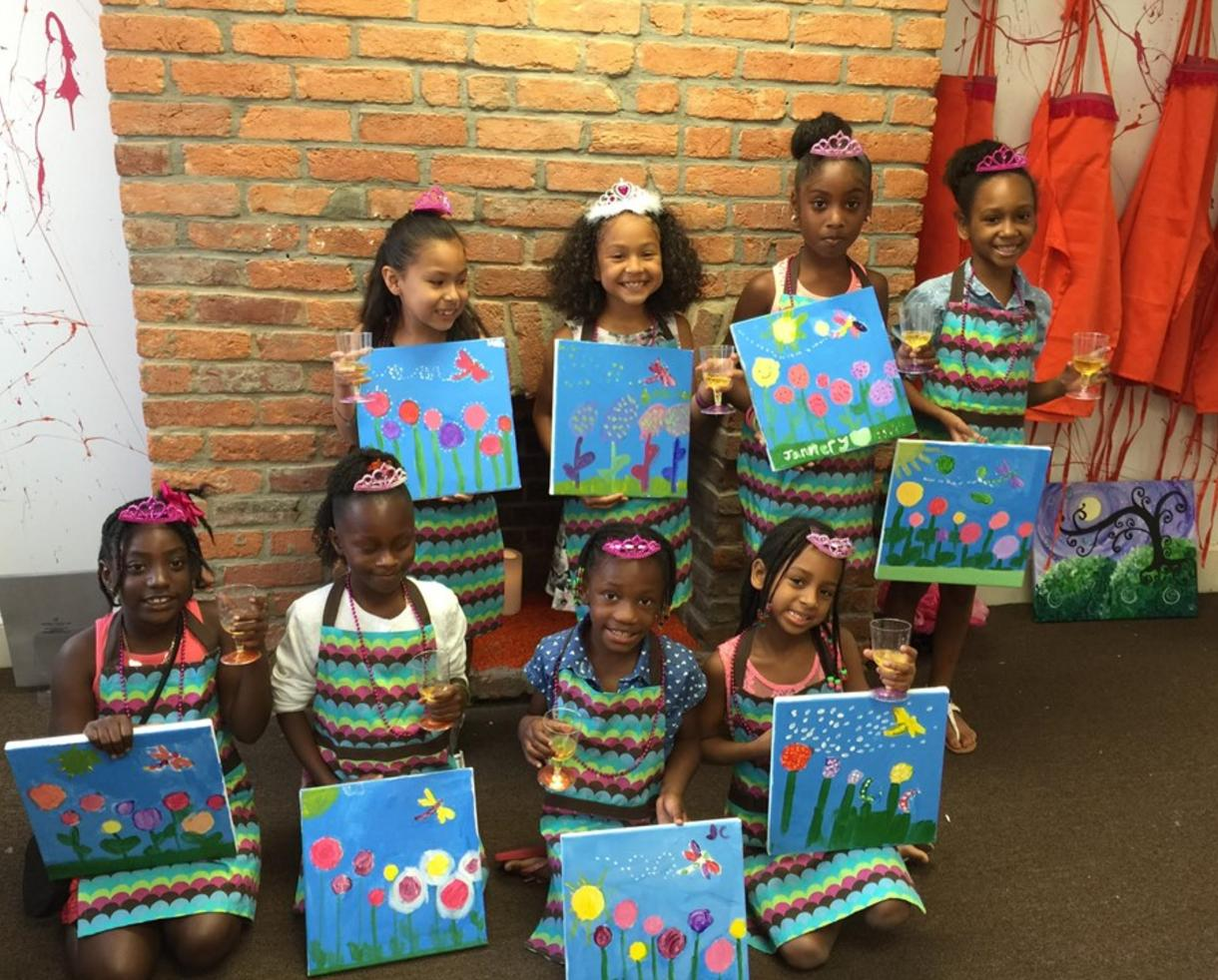 deal 140 for princess or pirates painting party at monet gogh sip