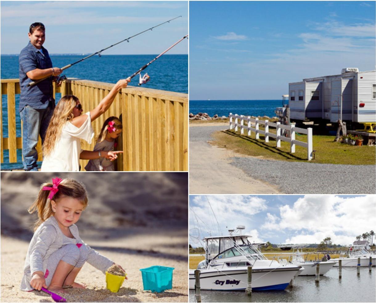 $49+ for 2-Night Getaway on the Chesapeake Bay at New Point RV Resort OR Gwynn's Island RV Resort - Virginia (41% Off)
