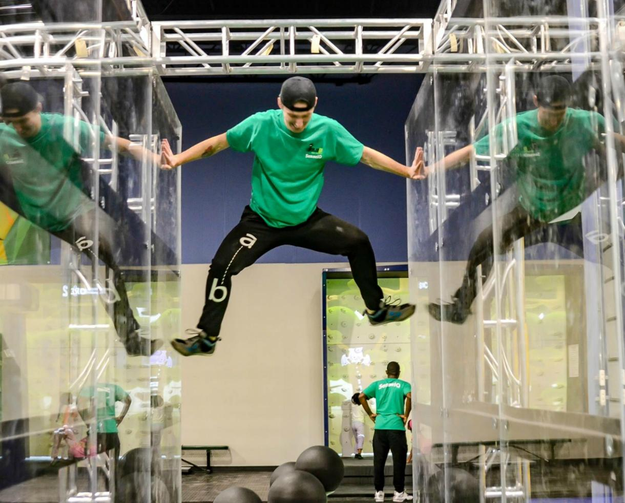 $18 for 90 Minutes of Weekday Open Play at BRAND NEW NinjaBE - Columbia ($24.99 Value)