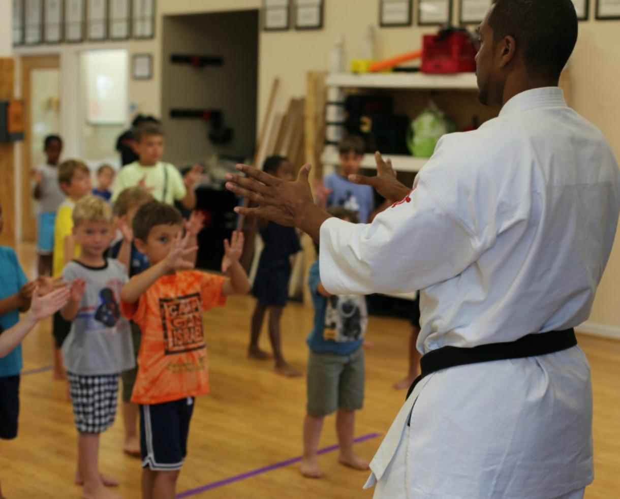 $26 for Parent's Night Out or $37 for 1-Day School's Out Camp at Okinawan Karate Dojo in Ellicott City (Up to 26% Off)
