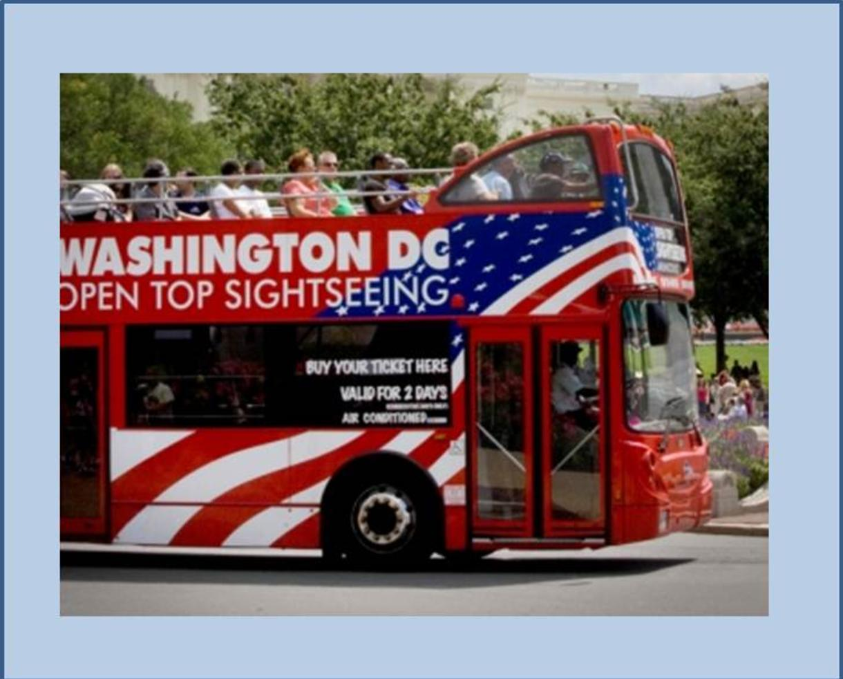 $65 for Family DC Double Decker Sightseeing Tour for 2 Adults + 2 Children AND Madame Tussauds! (68% Off)