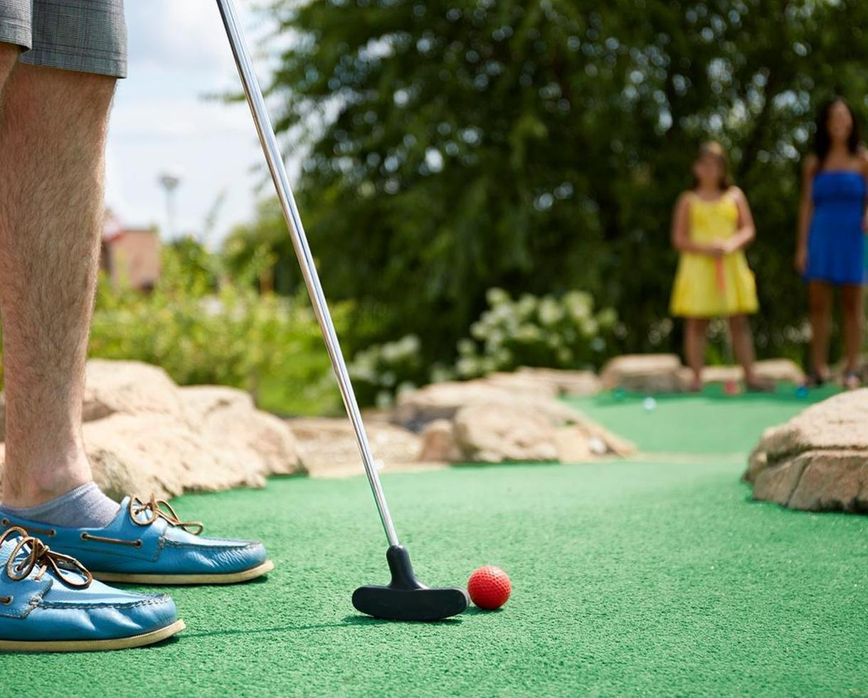 Mini Golf + Batting Cage Tokens at Peachtree Golf Center