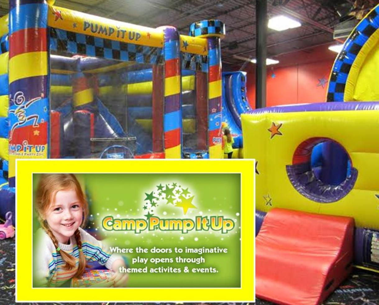 $18+ for Pump It Up of FREDERICK Summer School's Out Camp for Ages 4-10 - Daily & Weekly Camp Options Available! (Up to 34% Off)