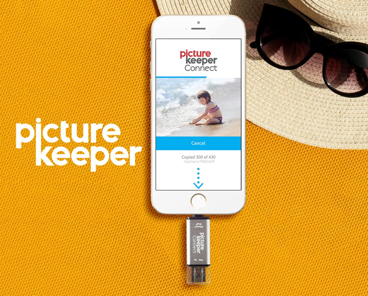 50% Off Picture Keeper Backup Storage for Smartphones & Tablets