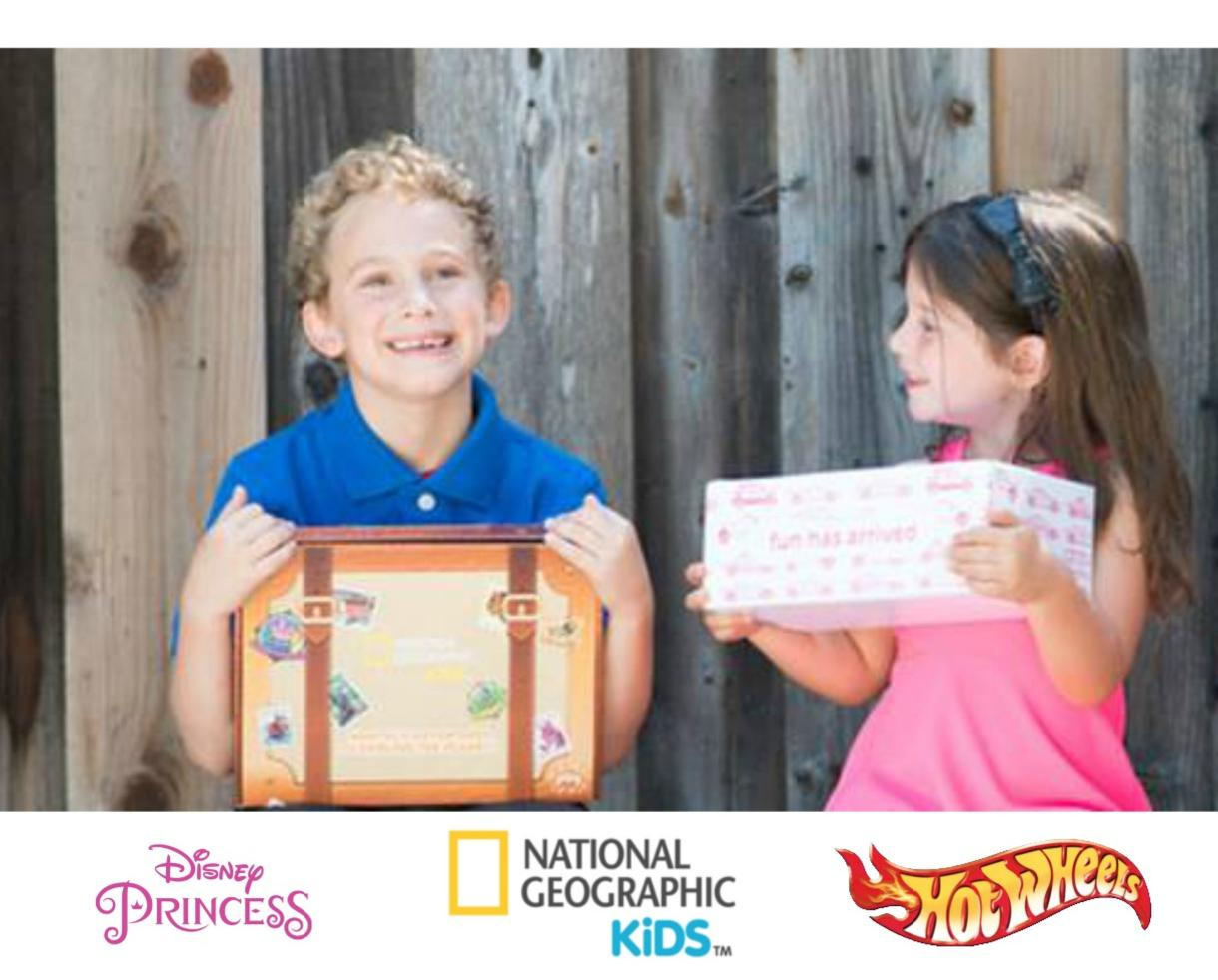 $10 for Disney Princess, Hot Wheels or National Geographic Pleybox! (Up to 67% Off)