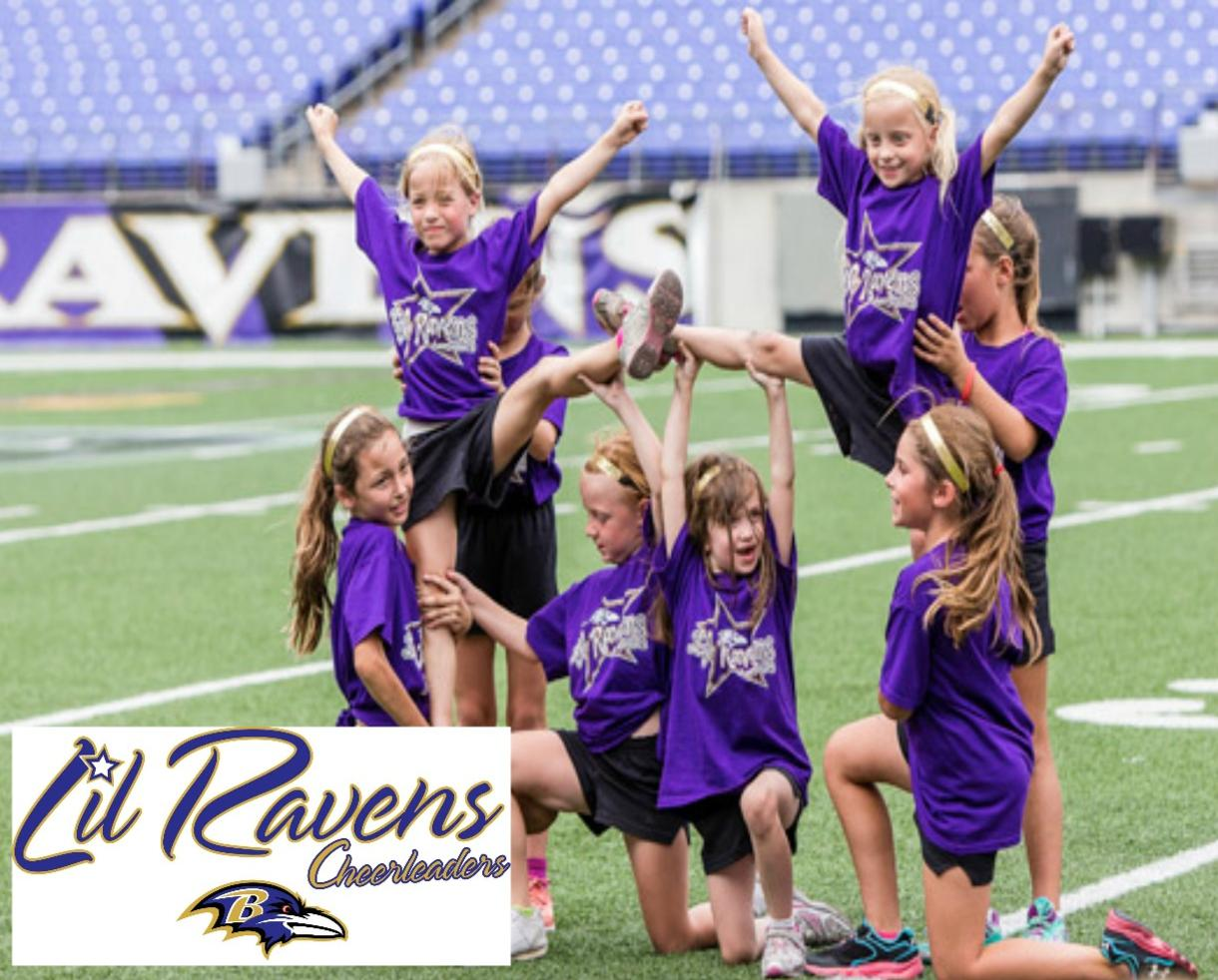 Deal 135 For Ravens Cheerleader Camp For Ages 6 17 At Mt Bank