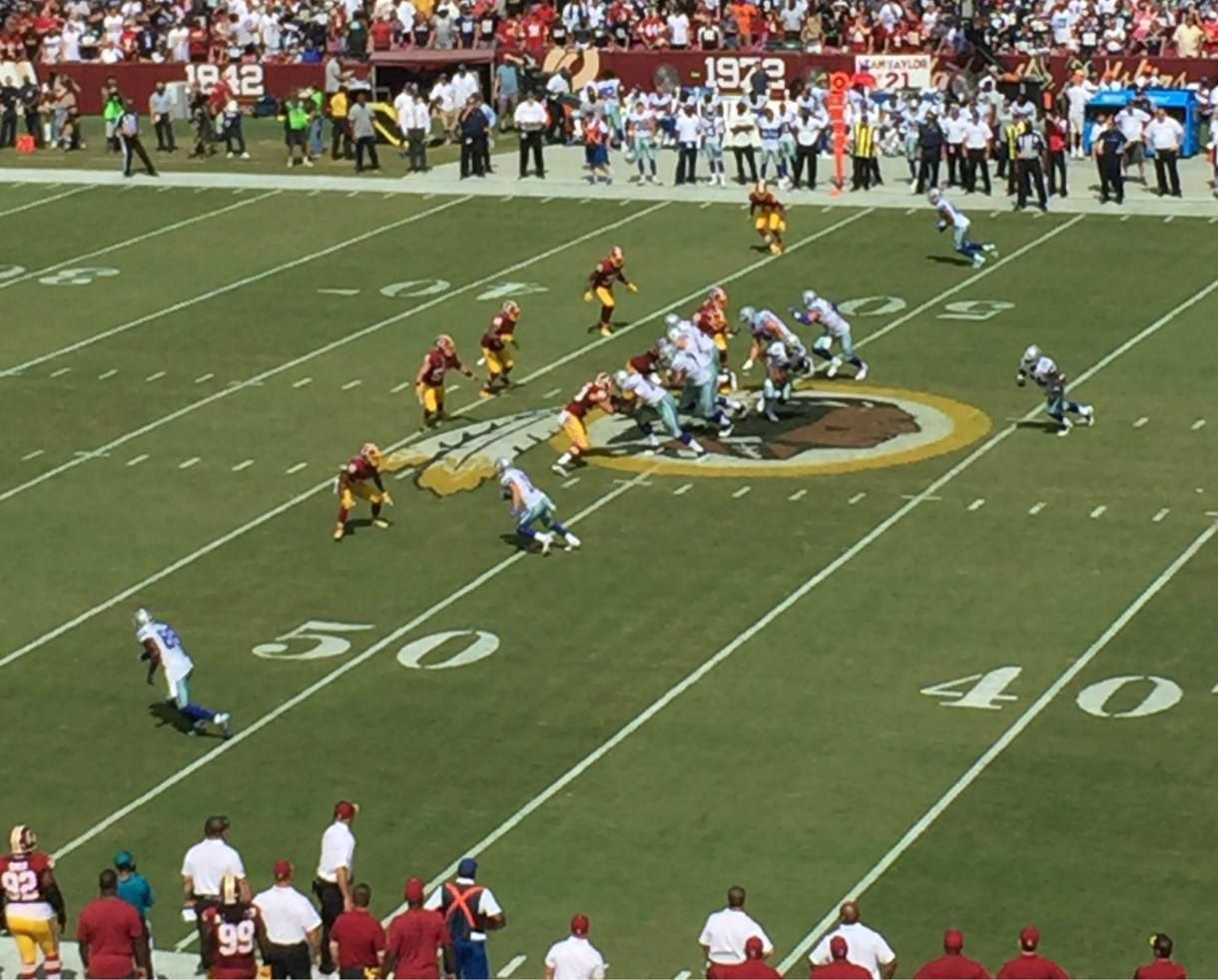 EXCLUSIVE OFFER! $149 for CLUB LEVEL SEATS to Washington Redskins vs. Dallas Cowboys NFL Football Game!