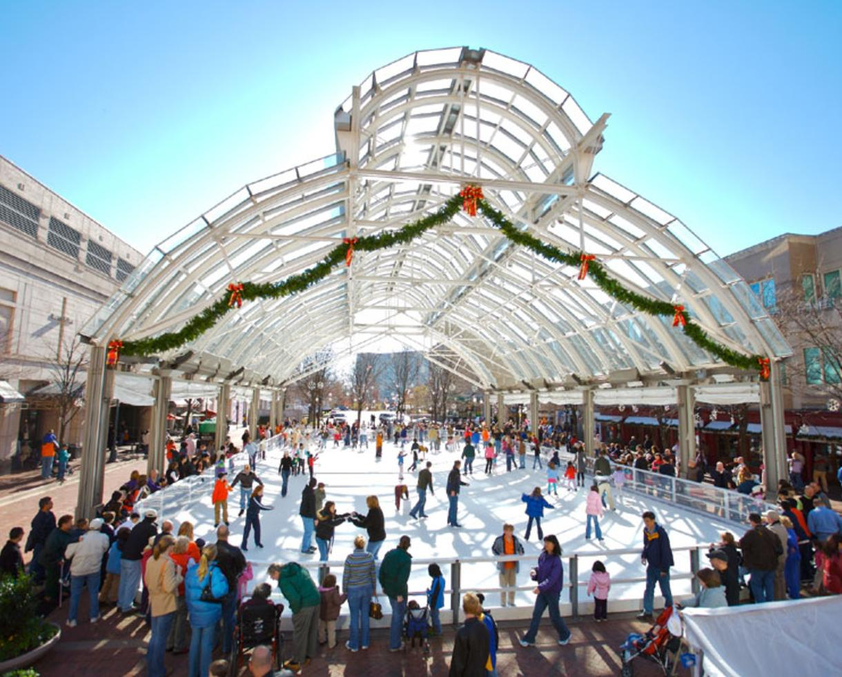 $16 for 2 Admissions - Adult or Child - Including Skate Rentals at Reston Town Center Ice Skating Pavilion ($32 Value - 50% Off)