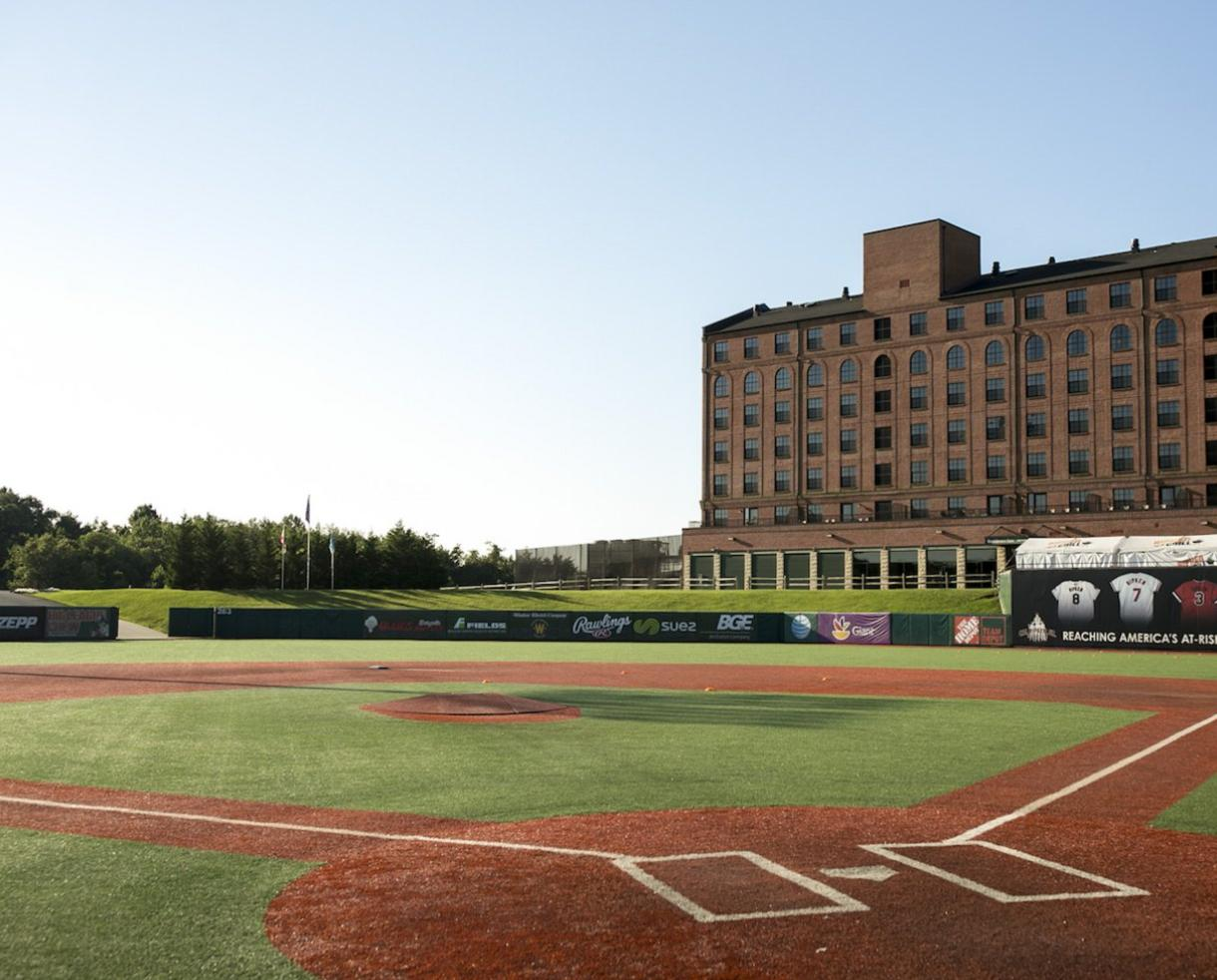 Ripken Baseball Rookie Camp at The Ripken Experience in Aberdeen