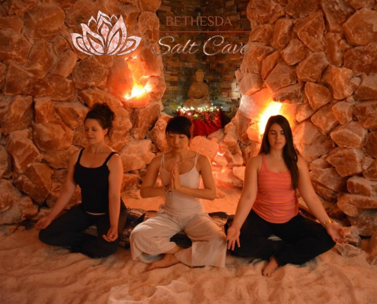 $20+ for Salt Therapy Session at Bethesda Salt Cave - Includes Mommy & Me Option! (Up to 49% Off)