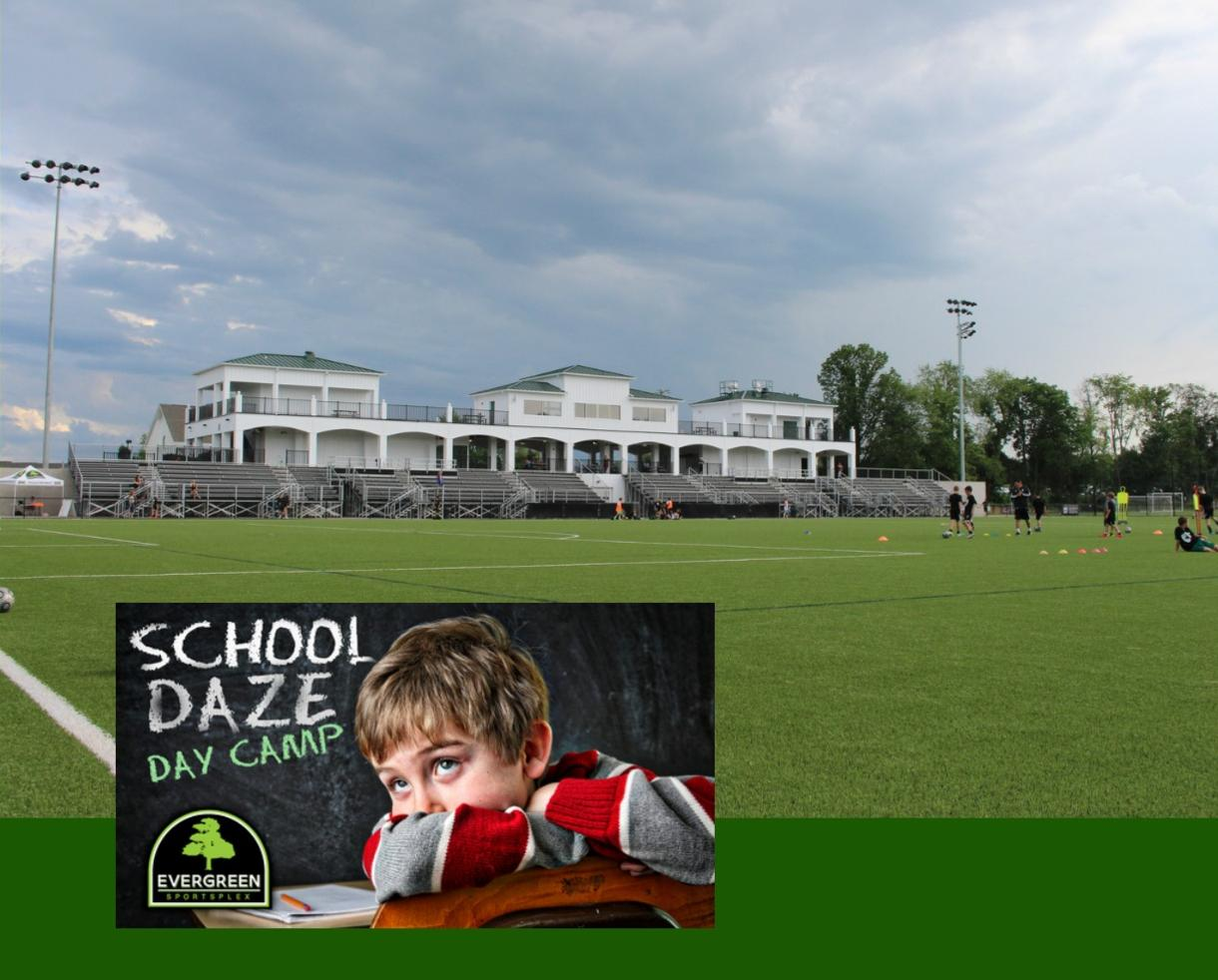 Evergreen Sportsplex School Daze One-Day Camp