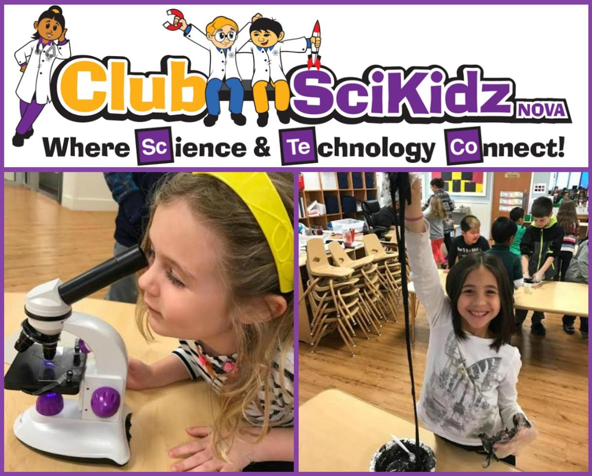 $340 for Club SciKidz NOVA Science & Technology Camps for Ages 4-15 - Includes Before and After Care! - $100 Deposit Paid Now - Fairfax or Manassas Locations (20% Off)