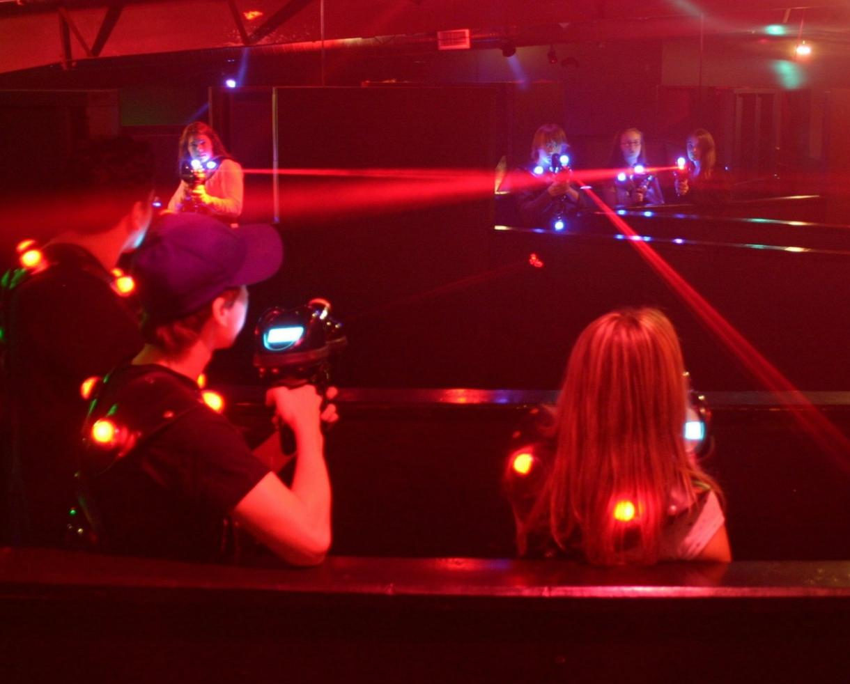 TWO Laser Tag Adventures at ShadowLand