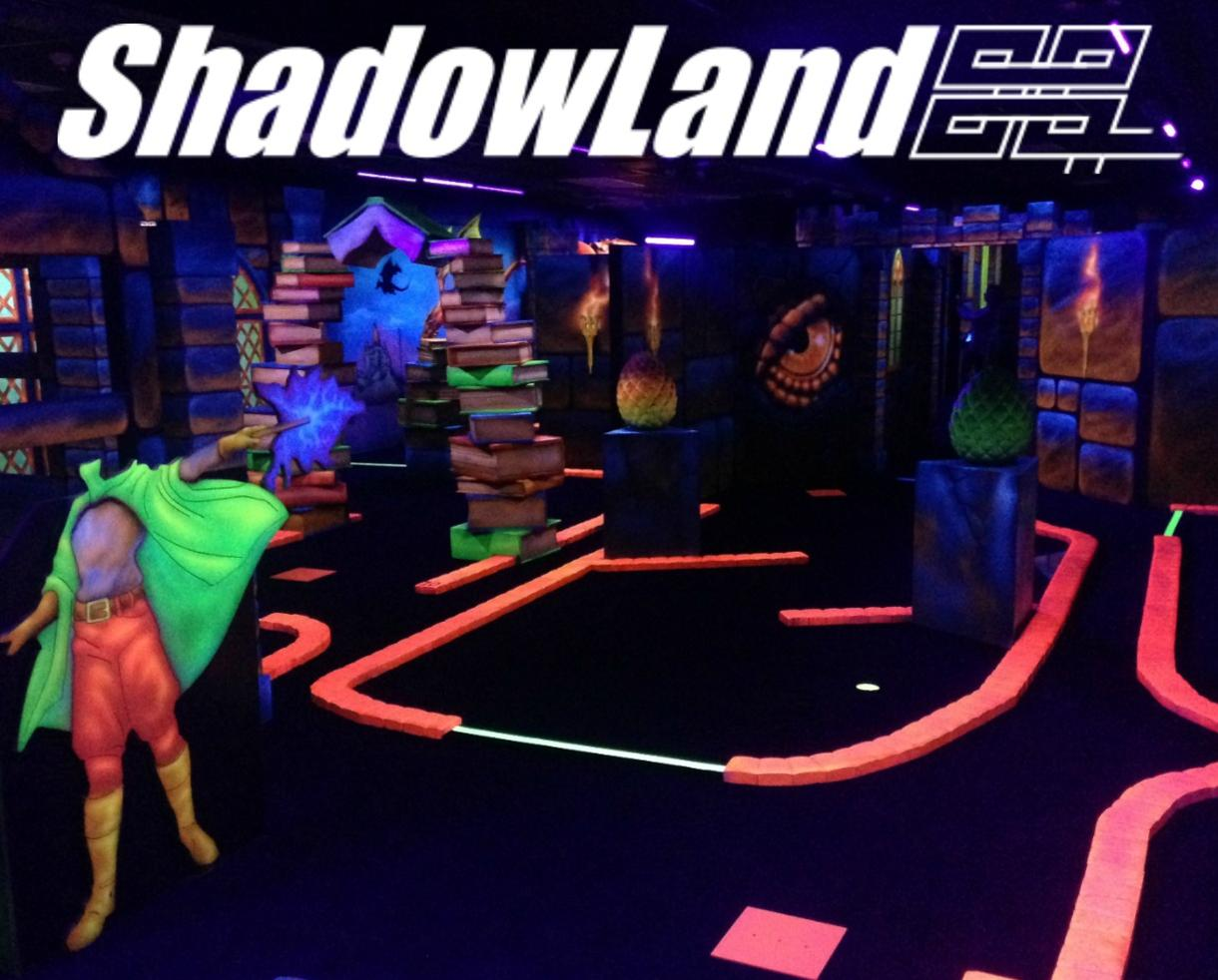 Two Rounds of Glow Mini-Golf at Shadowland - Alexandria/Springfield Location ONLY