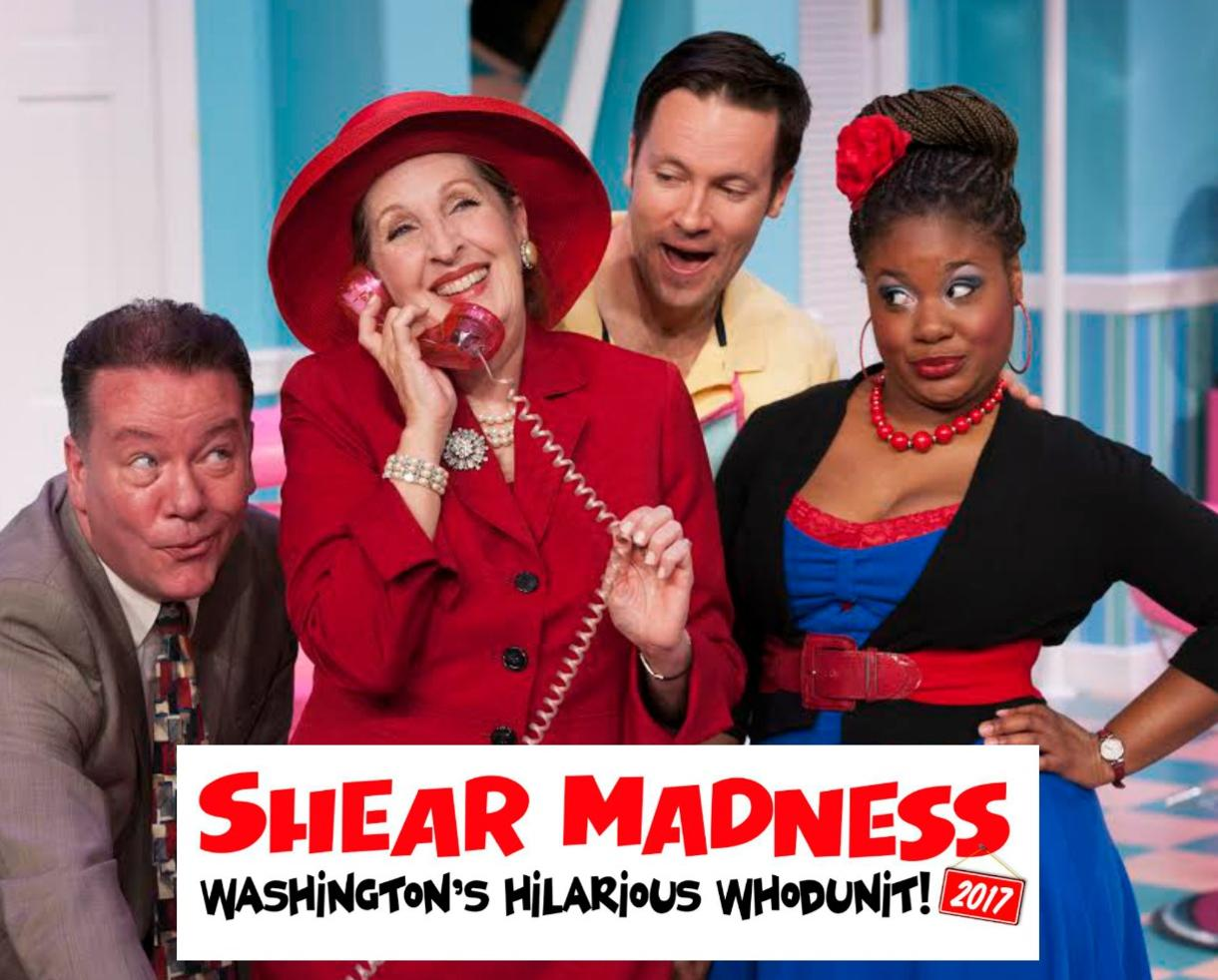 $27 for Shear Madness at The Kennedy Center - Washington, DC (50% Off!)