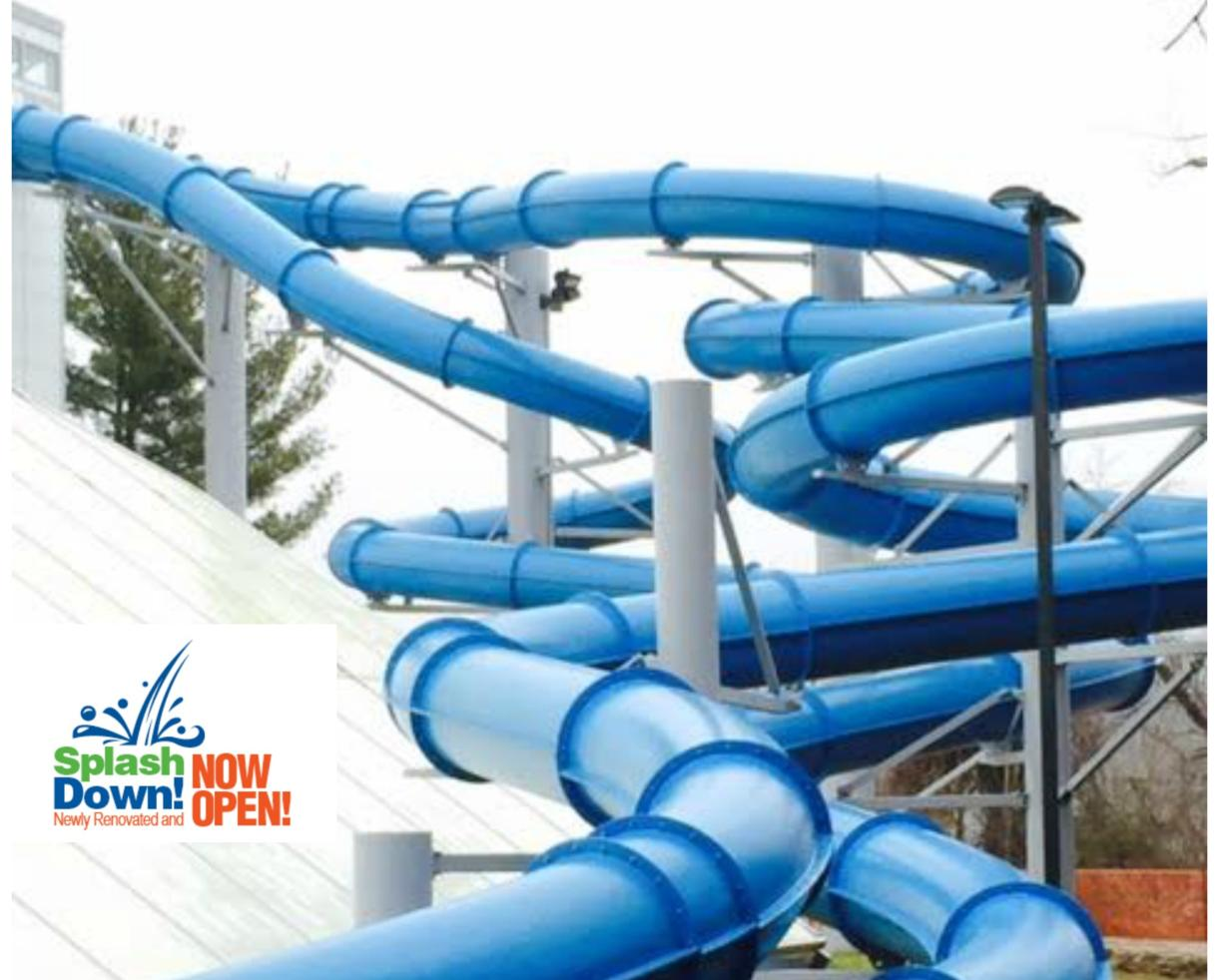 $31 for THREE Admissions to SplashDown Indoor Water Park at Columbia Swim Center ($45 Value - 32% Off)
