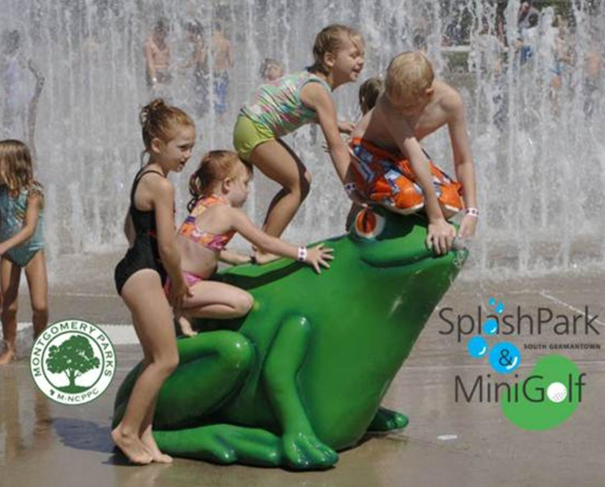 $9 for TWO Weekday SplashPark Admissions + Mini-Golf - Germantown, MD (50% Off!)