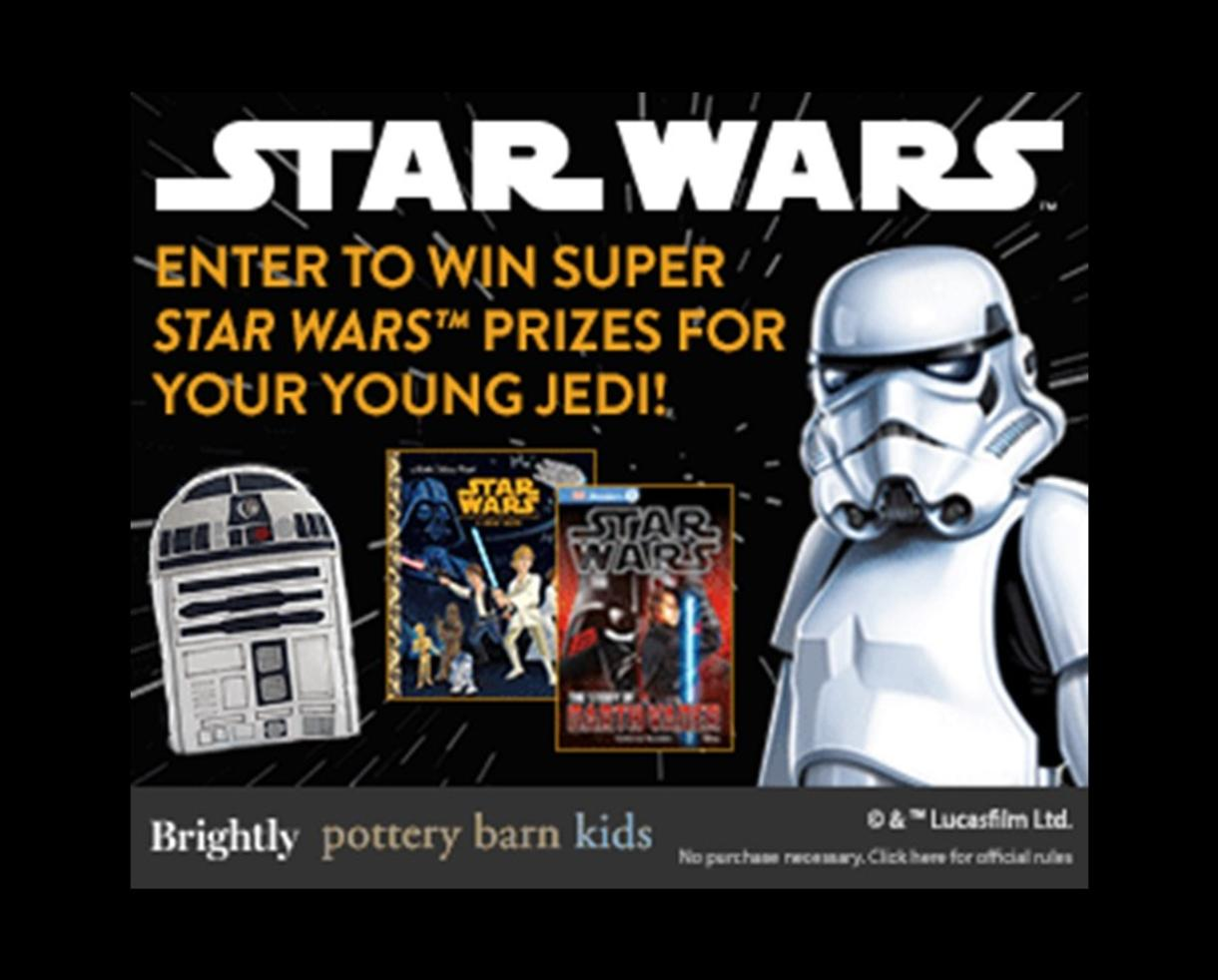 Enter Now Win A Star Wars Prize Pack From Brightly