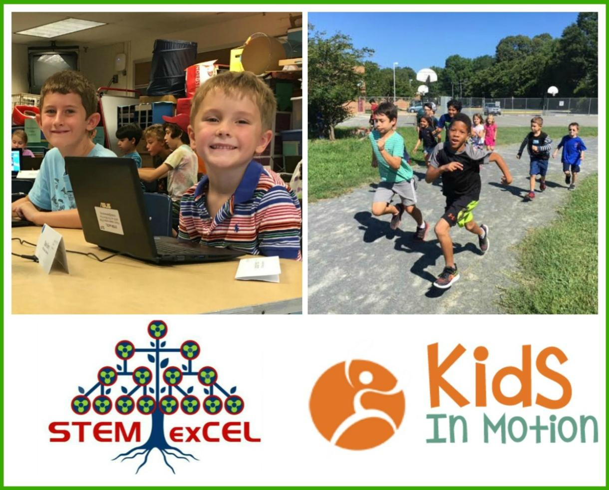 $292 for Kids in Motion/STEM exCEL Fitness and Technology Camp for Rising 1st-6th Graders - Falls Church or Springfield ($73 Off)