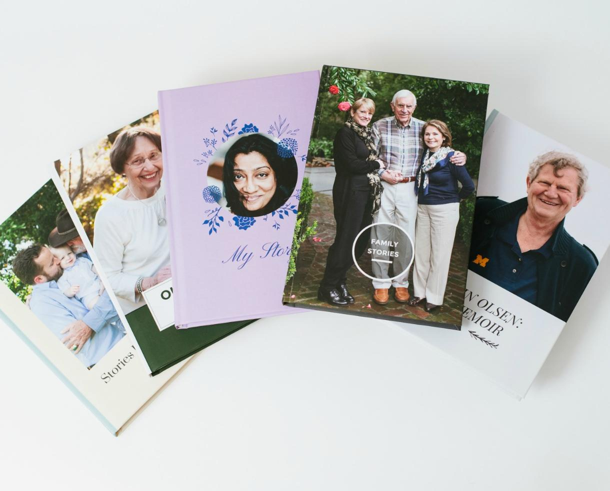 Beautiful Keepsake Book Filled with Personal Stories from Your Dad, Grandpa, or Loved One
