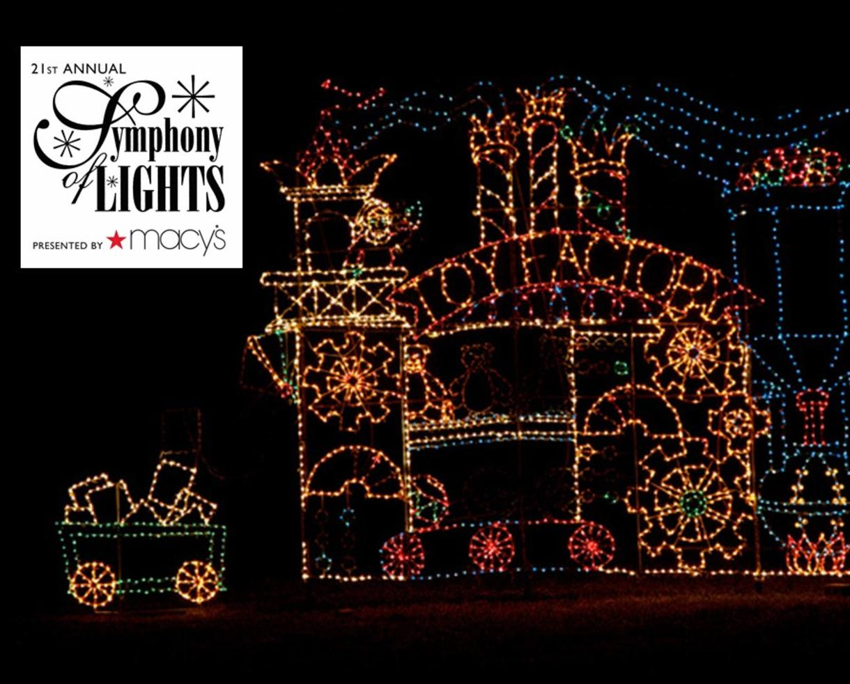 deal 15 for symphony of lights admission for one car benefiting
