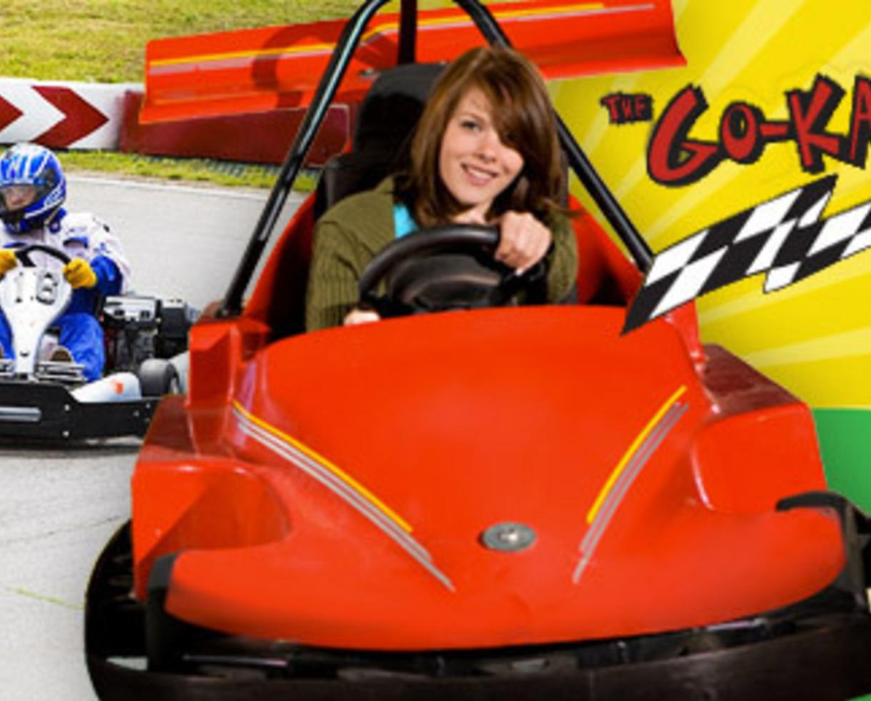 $25 for 4 Go-Kart Rides & 2 Rounds of Mini Golf - Fun For Ages 3 and Up! ($46 Value - 46% Off)