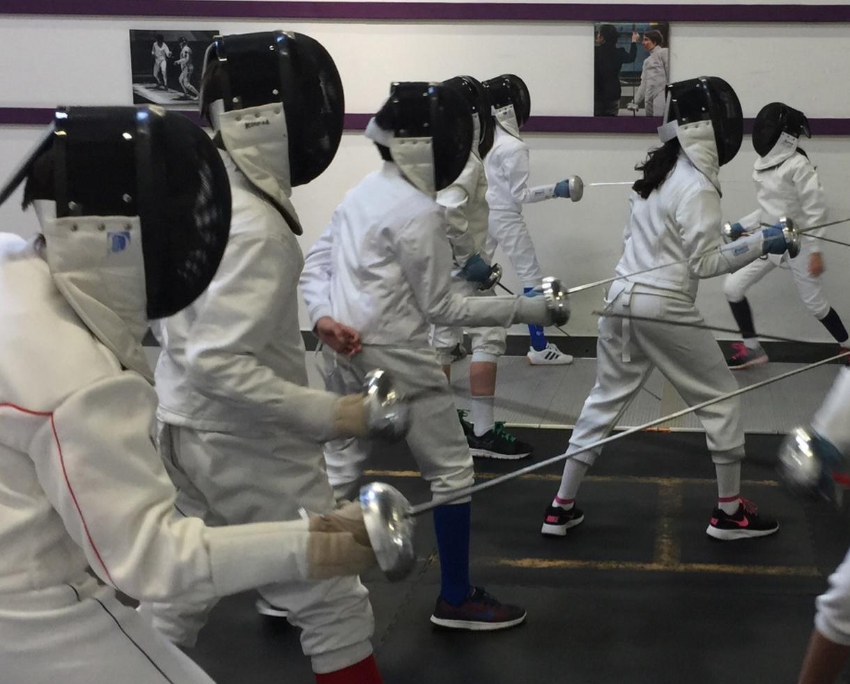 Loudoun International Fencing Club Beginner Fencing Class