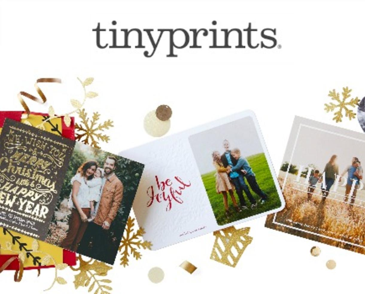 deal save up to 40 on tinyprints holiday cards invitations