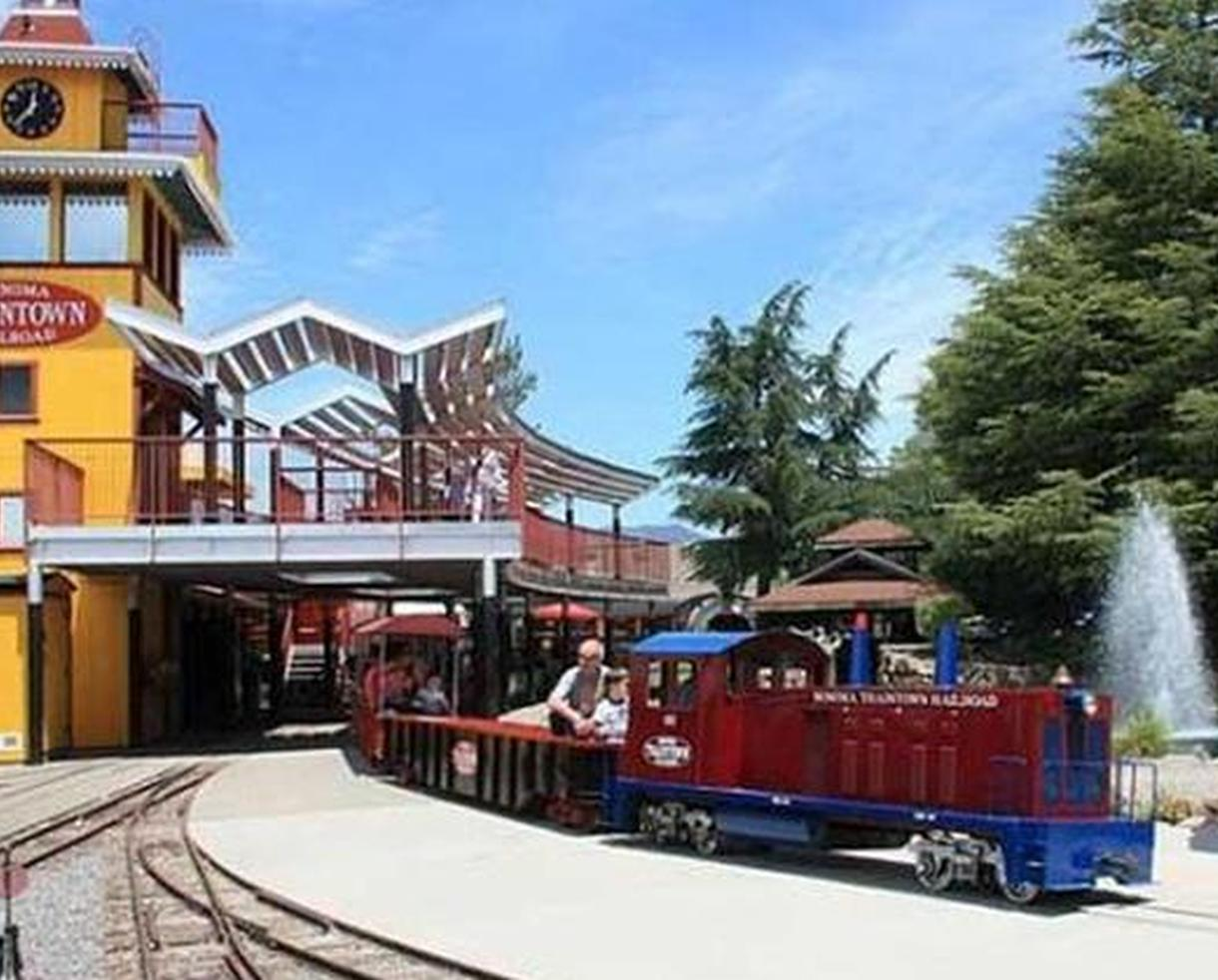 Four Train and Eight Ride Tickets at TrainTown