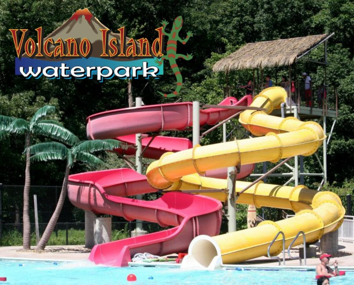 Volcano Island Waterpark Admission