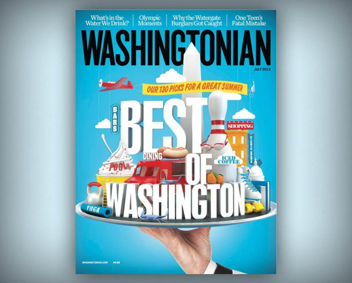 $14 for Washingtonian Subscription - Great Holiday Gift! (50% Off!)