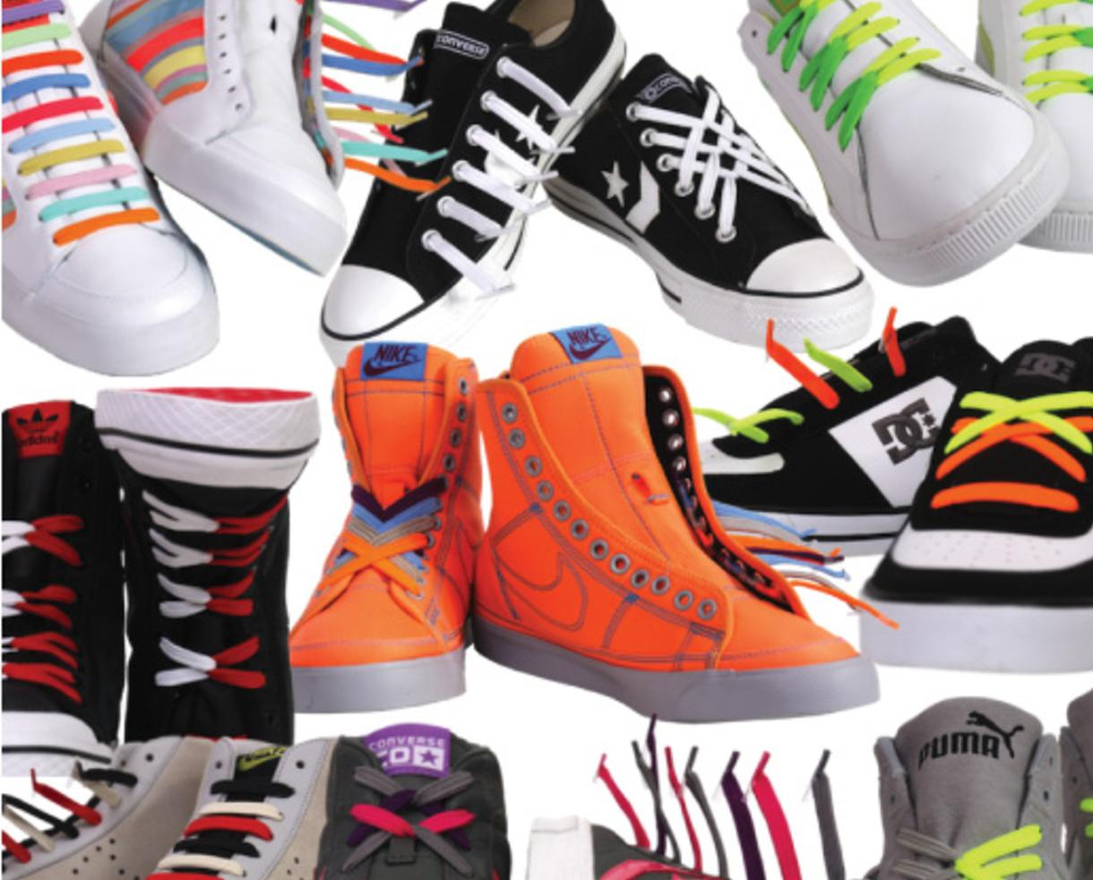 Deal: $16 for 6 Packs of Mix-n-Match No-Tie Shoelaces from ...