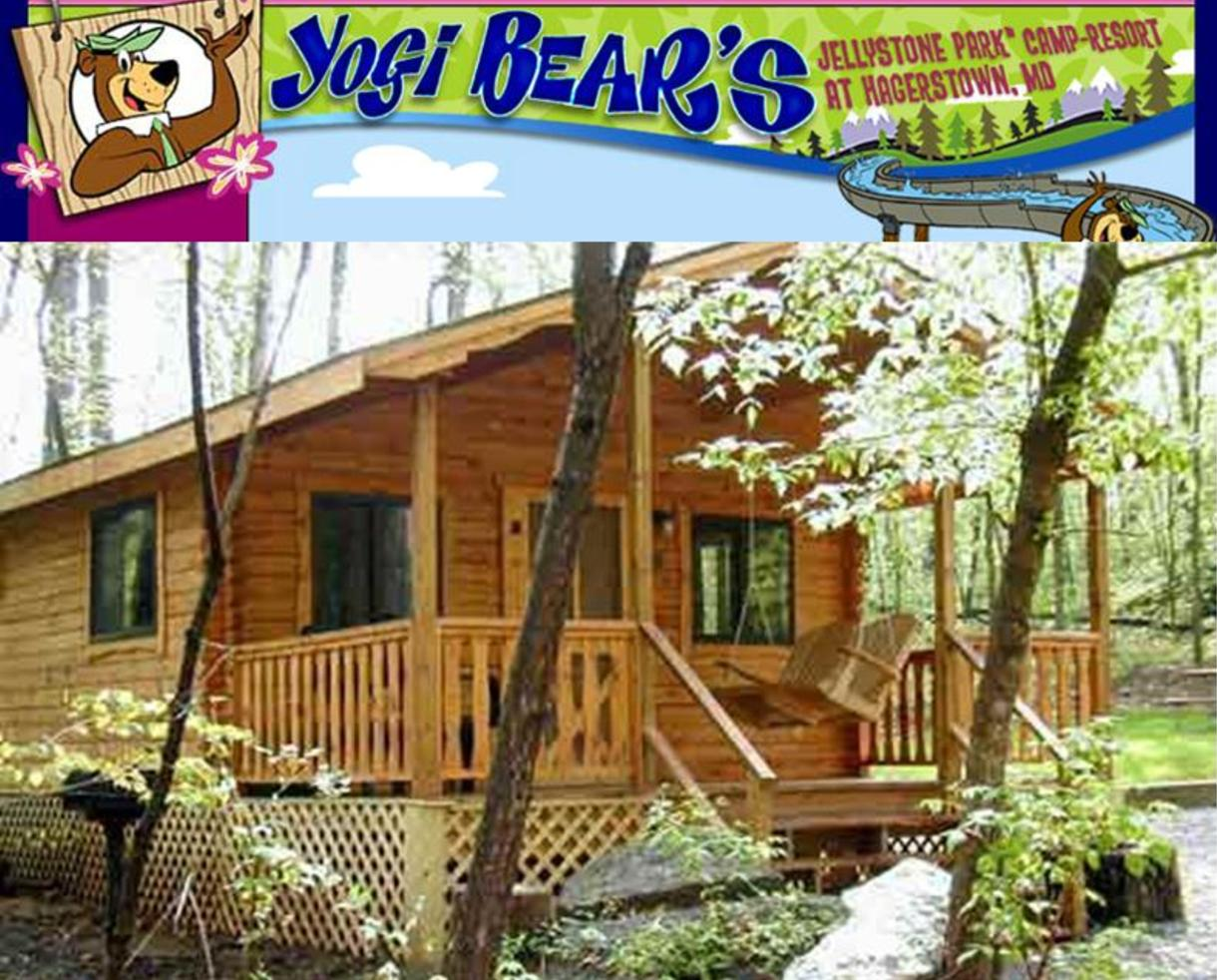 $99 for 2-Night COZY Cabin Rental in November, March or April - Heated! - Yogi Bear's Jellystone Park in Hagerstown (50% Off)