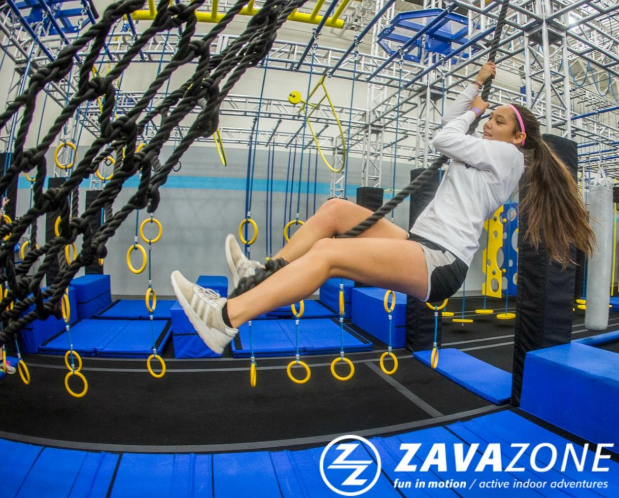 One 1-Hour ZavaZone Adventure Pass + Jump Socks