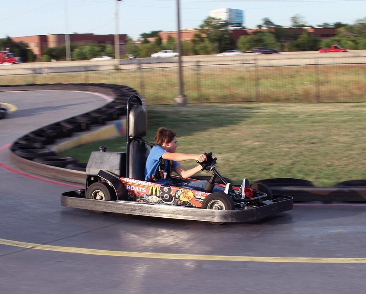 Zone Action Park Go-Karting and Mini Golf or Legendary Bash