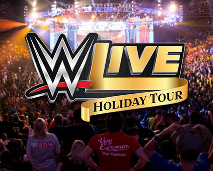 Get 4 Tickets for the Price of 3! WWE Live Holiday Tour on December 30th at Royal Farms Arena - Baltimore
