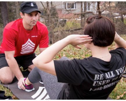 Boot camp fitness kits programs
