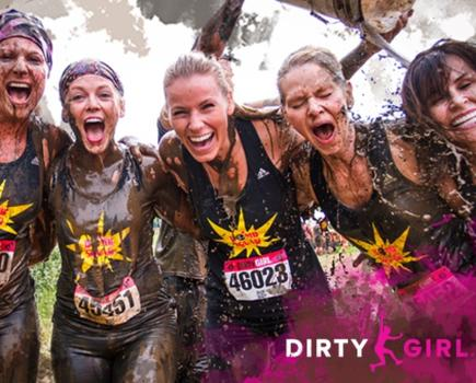 $49 for One Entry to Dirty Girl Mud Run - August 22 at High Point Farm in Clarksburg ($65 Value - 25% Off)