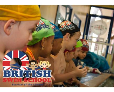 $96-$164 for TWO MONTHS of Group Swimming Lessons at British Swim School - Includes Registration Fee! Bethesda, Silver Spring, Rockville, Gaithersburg, Wheaton & Germantown (Up to 58% Off)