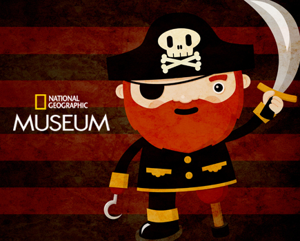 $300 for a Pirate Birthday Party at the National Geographic Museum for 10 (20% off a $375 Value)