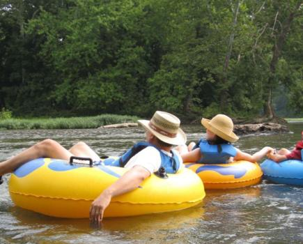 $17 for TUBING or $22 for TUBING & KAYAKING - Any Day ALL Summer in Harpers Ferry at River and Trail Outfitters (Up to 44% Off)