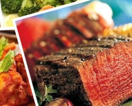 $49 for East Coast Steaks & Seafood Meals Delivered to Your Door OR Shipped as a Gift! ($109 value -56% off)