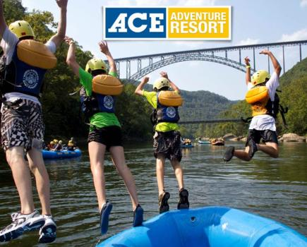$85 Per Person for 2-Night Kid-Friendly White Water Rafting, Camping & Floating Playground Trip - ACE Adventure Resort in WV (47% Off!)