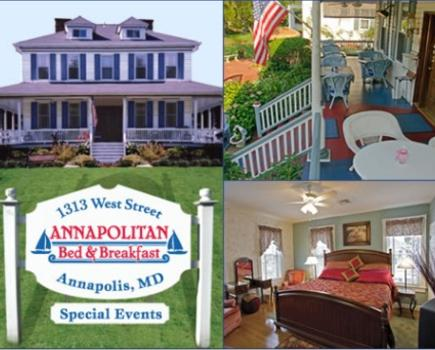 $129 for One Night Package for Two at The Annapolitan Bed & Breakfast in Annapolis, MD ($225 value - 43% off)