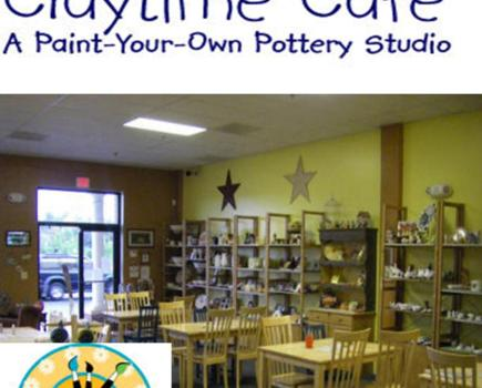 $10 for $20 Worth at Claytime Cafe Paint-Your-Own Pottery Studio in Manassas (50% Off)